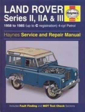 Haynes - Service And Repair Manual Landrover Series