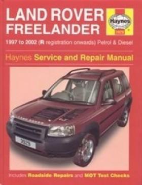 Haynes - Service And Repair Manual Landrover freelander