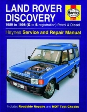 Haynes - Service And Repair Manual Discovery