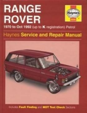 Haynes - Service And Repair Manual Range Rover Classic