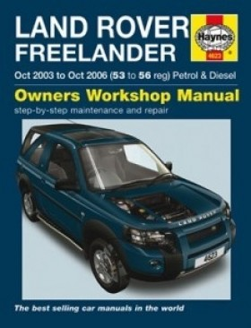 Haynes - Freelander 1997 tot Okt. Benzine en Diesel