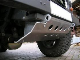 Stuurstang beschermer aluminium
