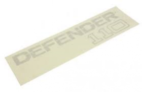 Badge Rear Defender