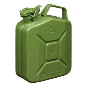 Jerrycan 5L metaal groen UN- & TüV/GS-gekeurd
