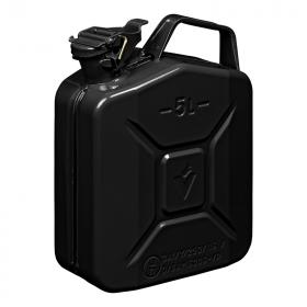 Jerrycan 5L metaal zwart UN- & TüV/GS-gekeurd