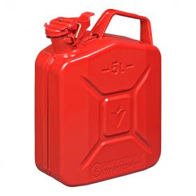 Jerrycan 5L metaal rood UN- & TüV/GS-gekeurd