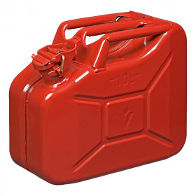 Jerrycan 10L metaal rood