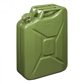 Jerrycan 20L metaal groen