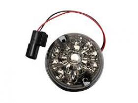Smoked LED Indiacator Light 73mm