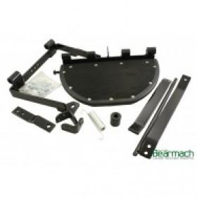 Series Folding Rear Side Step Kit
