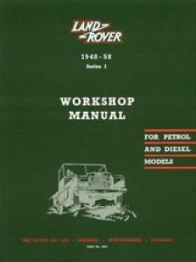 Workshop Manual 1948-58 Series 1