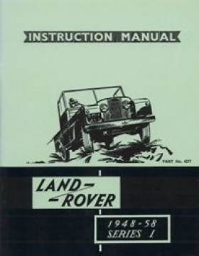 Instruction Manual Land Rover Series 1 1948-58
