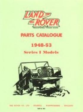 Parts Catalogue 1948-53 Series 1 Models