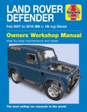 Haynes Service and Repair Manual - Defender Puma (2007 - 2016)
