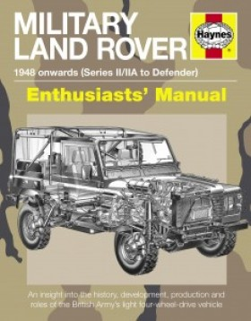 Military Land Rover Manual 1948 onwards